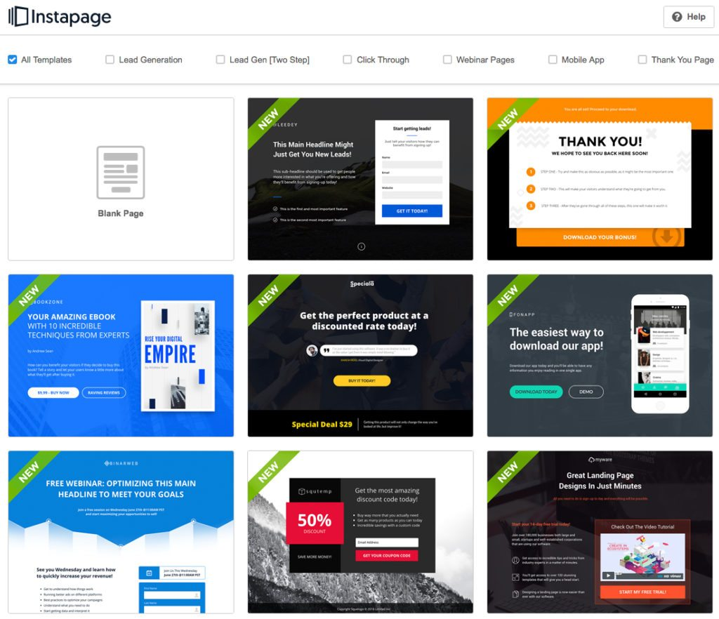 Landing Page Builder Design And Reviews And Comparison