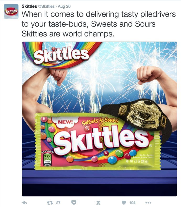 Skittles Twitter arms