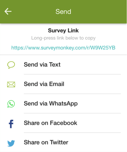 how to create a survey