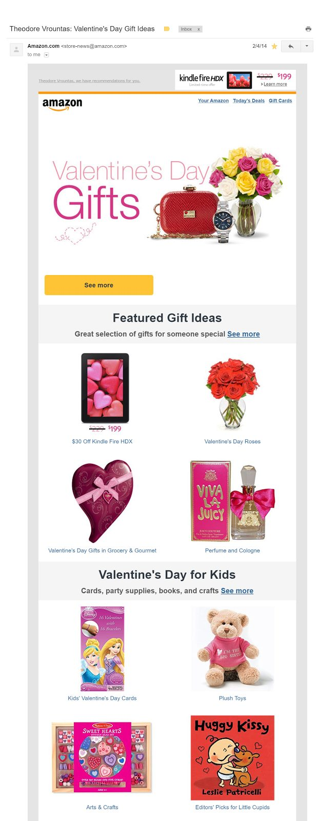 Email Marketing Ideas 15 Valentines Day Emails To Steal Your