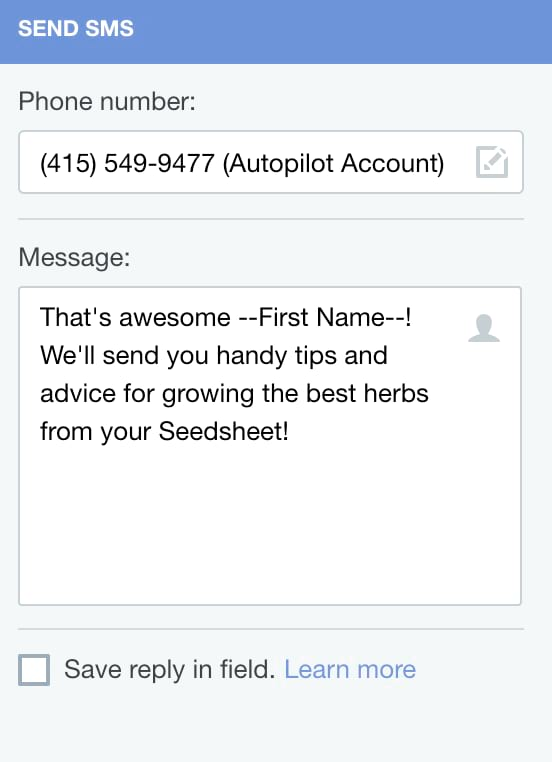 SMS Marketing Case Study - Autopilot Blog